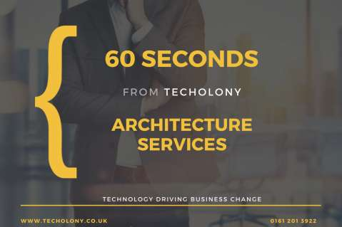 60 Seconds : Architecture Services