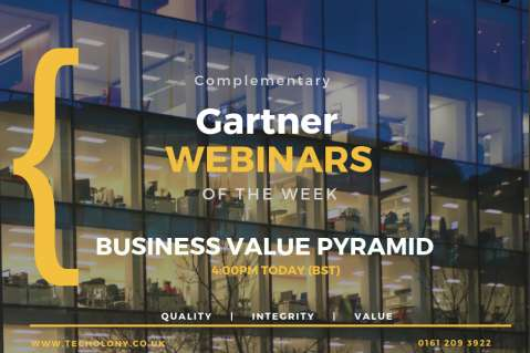 Gartner Business Value Pyramid