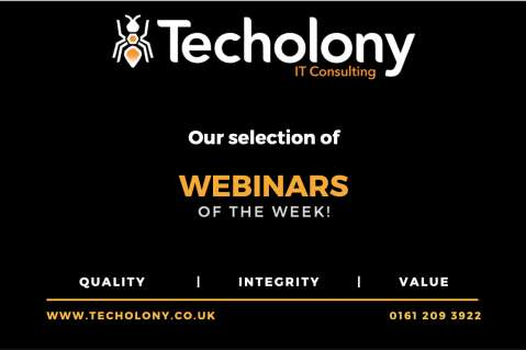 Webinars Of the Week